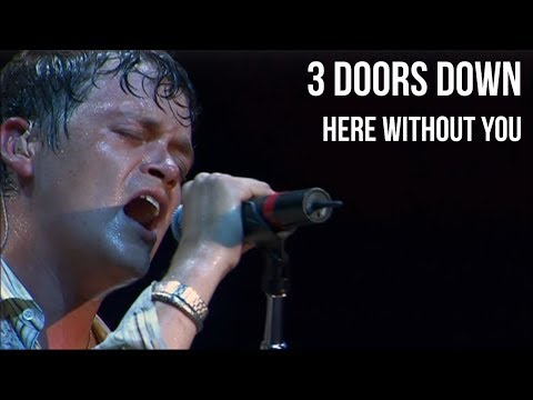 3 Doors Down - Here Without You  in Texas  sub Español +