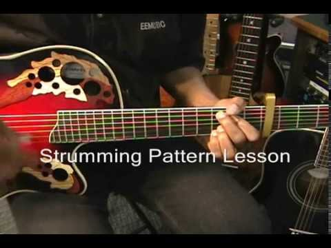 Strumming Pattern Guitar Lesson TREVOR HALL Style Reggae Fingerstyle