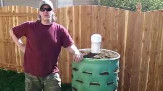 Around the Home: #7 Garden Barrel Relocation and Soil Mix