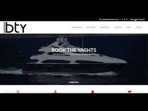 How To Register & Login for booktheyachts.com