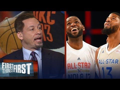 Chris Broussard On What PG13's Contract Opt Out Means For LeBron, Lakers | NBA | FIRST THINGS FIRST