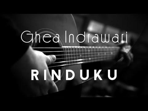 Rinduku - Ghea Indrawari ( Acoustic Karaoke )