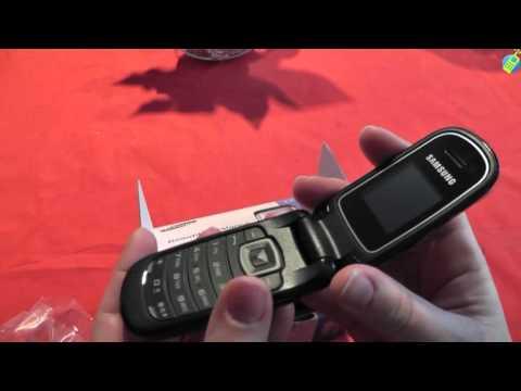 unboxing pl SAMSUNG E1150 Absolute Black rozpakowanie po polsku
