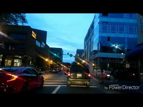 Driving By Downtown Lancaster, Pennsylvania