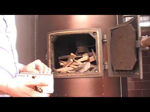 Caldera a le a liepsnele para calefacci n central video for Calderas para calefaccion central a lena