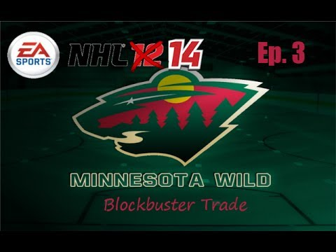 NHL 14: Be A GM Mode - Minnesota Wild - Episode 3: