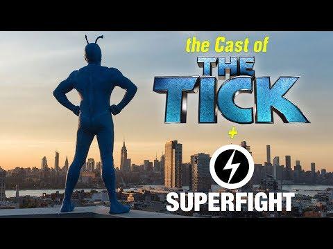 The Tick Cast Plays Superfight! - SDCC 2017