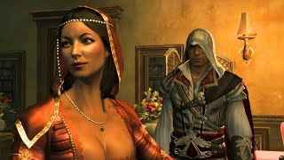 Ezio and Paola: Full Story of Sexy Florentine Courtesan (Assassin