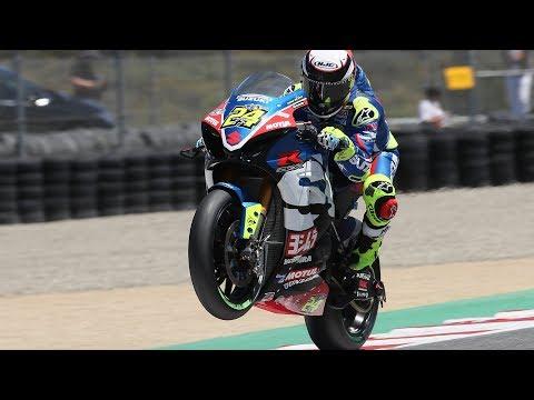 Toni Elias Takes EBC Brakes Superbike Race 1 at Laguna Seca