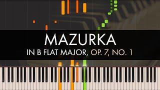 Frédéric Chopin - Mazurka in B flat Major, Op. 7, No. 1