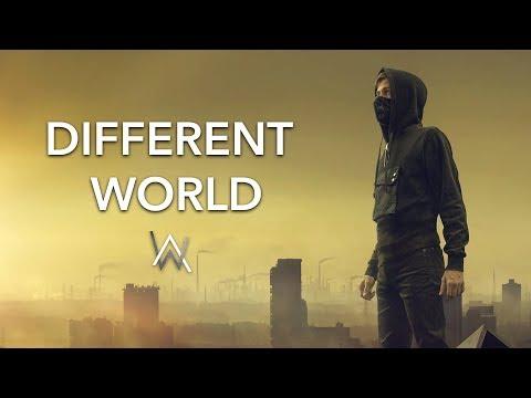 Alan Walker ‒ Different World (Lyrics) feat. Sofia Carson, K-391 & CORSAK