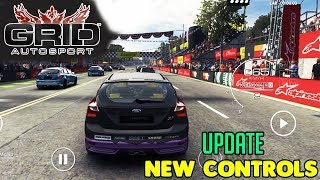 GRID AUTOSPORT MOBILE - NEW CONTROLS UPDATE GAMEPLAY - iOS / ANDROID