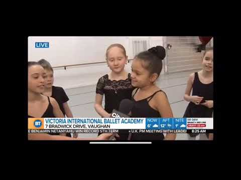 Breakfast Television Toronto visits Victoria International Ballet Academy