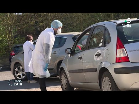 Tests de diagnostic du Covid-19: la France rattrape son retard - Reportage #cdanslair 26.03.2020