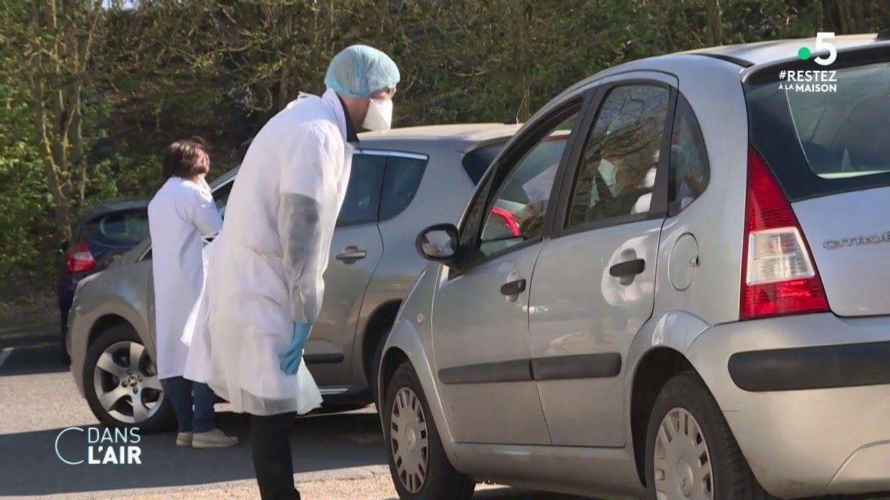 Tests de diagnostic du Covid-19 : la France rattrape son retard - Reportage #cdanslair 26.03.2020