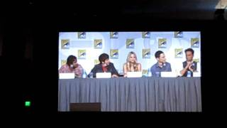 Discussion on Bazinga and Sheldons knock at the Big Bang Theory panel at Comic Con 2010