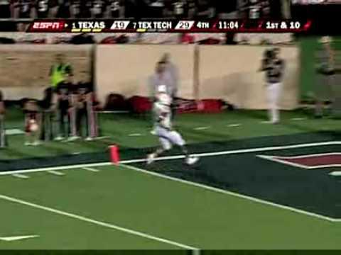 Texas Tech Upsets #1 Texas (Highlights) 9/1/08