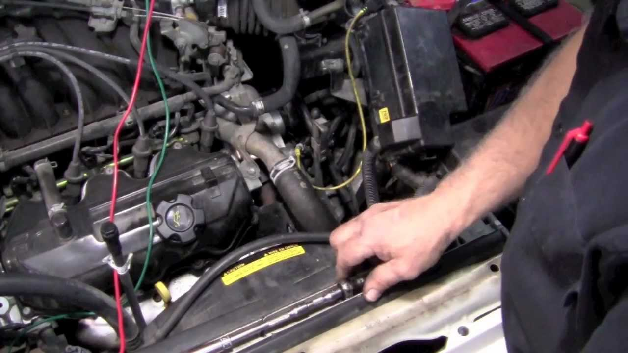Hidden Nissan Crank Sensor - YouTube