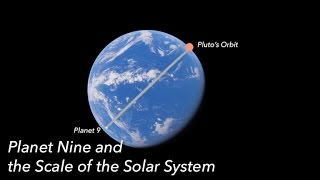 Planet Nine and the Scale of our Solar System