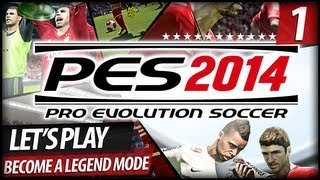 PES 2014 Become A Legend Mode Let