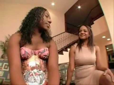 Ebony mama turned me out