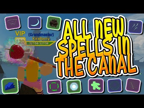 New Every Spell In The Canals In Dungeon Quest And How To Get Them Roblox Youtube