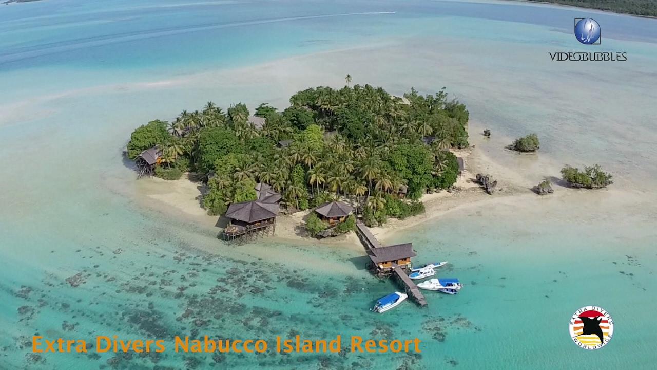 Extra Divers: Nabucco Island Resort / Indonesia - YouTube