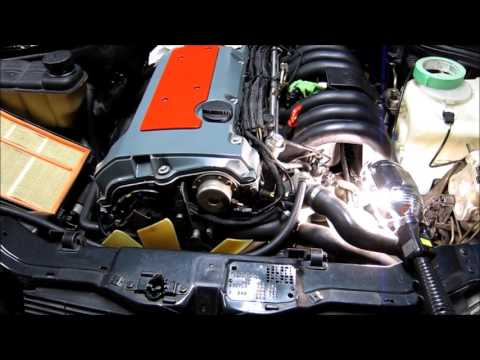 Mercedes Benz W202 C280 Engine M104 Head Gasket Replacement Part1 Disassembly
