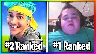 RANKING TOP 10 BEST FORTNITE PLAYERS IN THE WORLD!