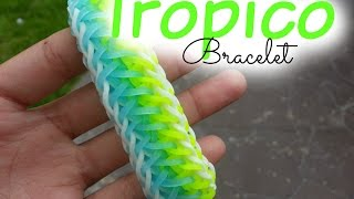 Repeat youtube video Tropico Bracelet Loom ~ How To