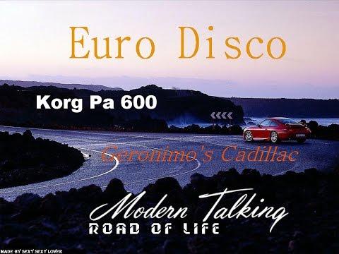 Modern Talking - Geronimo's cadillac  (Korg Pa600) EuroDisco