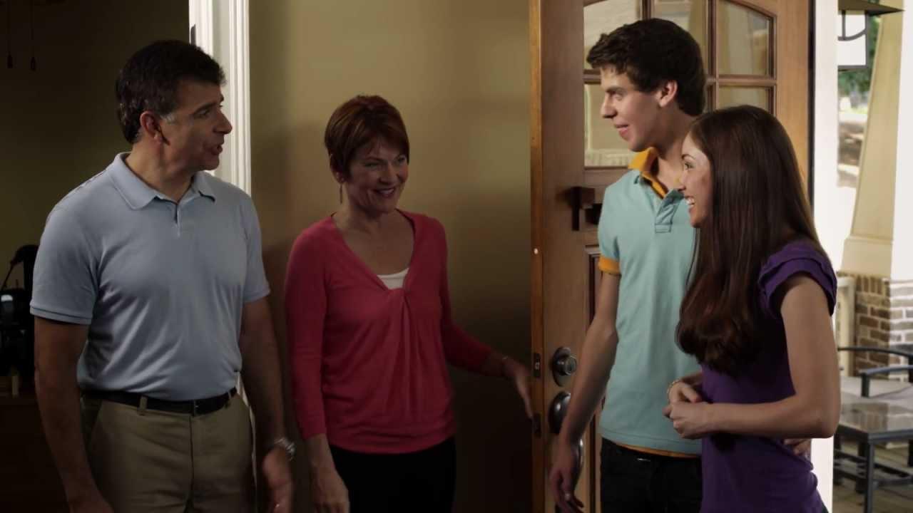 Meeting girls parents