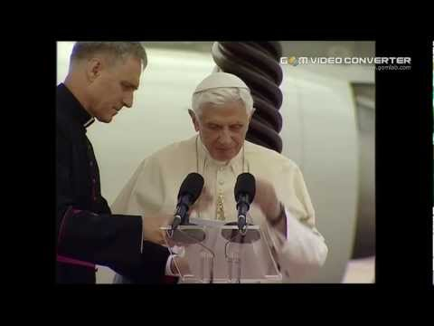 Pope Benedict XVI in Lebanon's capital Beirut