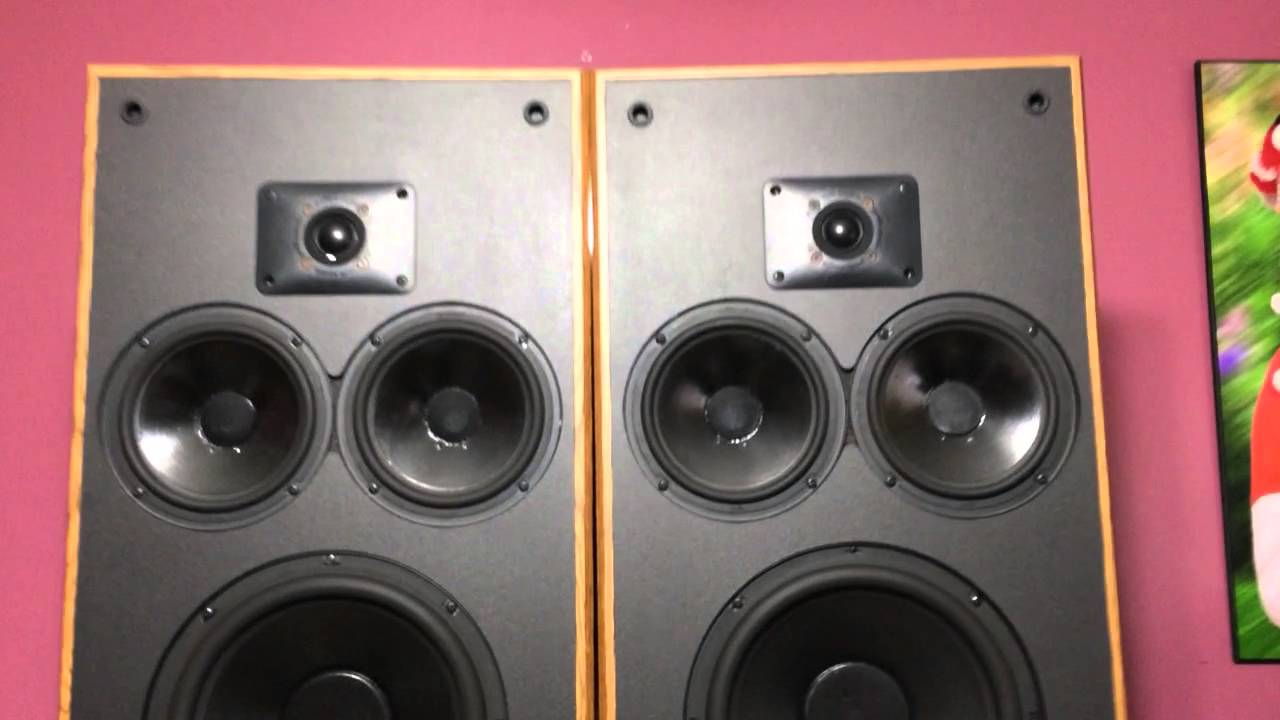 Polk Audio Monitor 10 Series 2 Speakers Youtube
