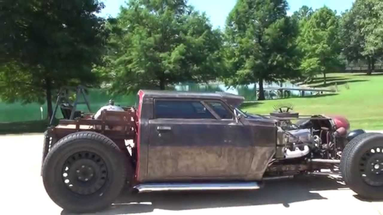 Hd Video 1983 Dodge Ram 50 Rat Rod Show Car Custom For