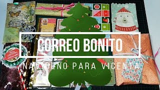 Correo Bonito Navideño para Vicenta Scrap | Pocket Letter