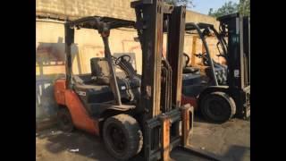 Used Toyota Forklift 2 ton 2.5 ton 3 ton 5 ton 6 ton 7 ton 8 ton