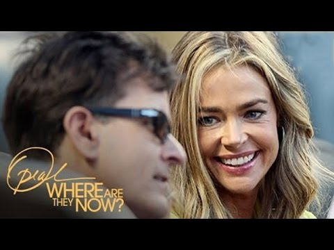 Denise Richards' Relationship with Charlie Sheen | Where Are They Now | Oprah Winfrey Network