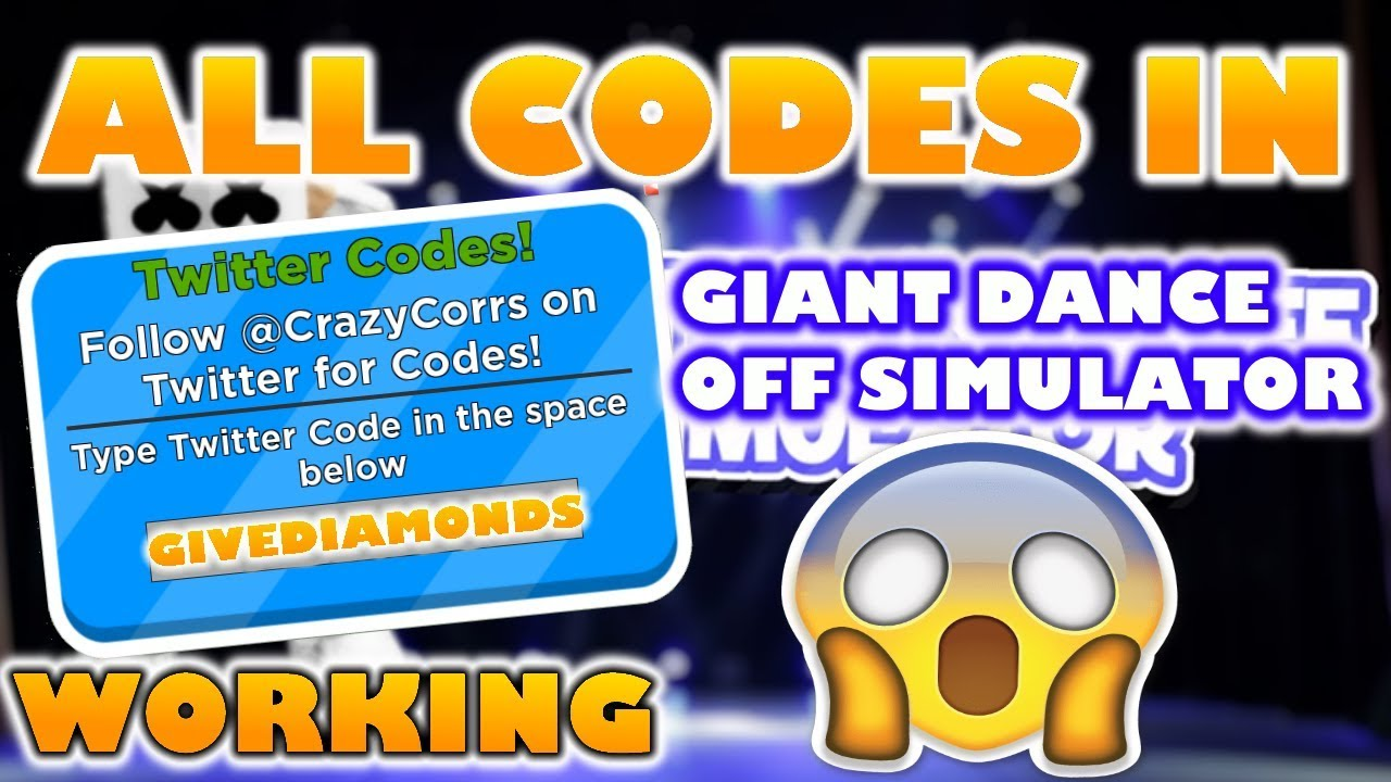 Roblox Giant Dance Off Code New