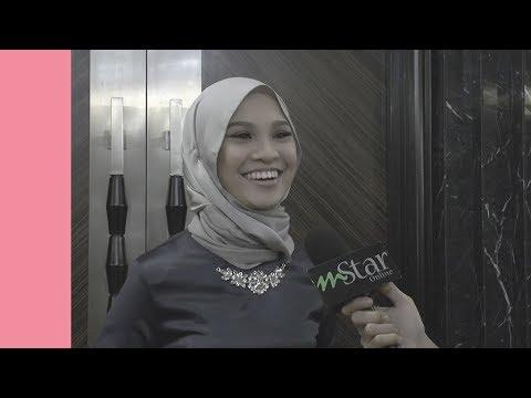 Nabila Razali berubah wajah apabila ditanya harga beg tangan
