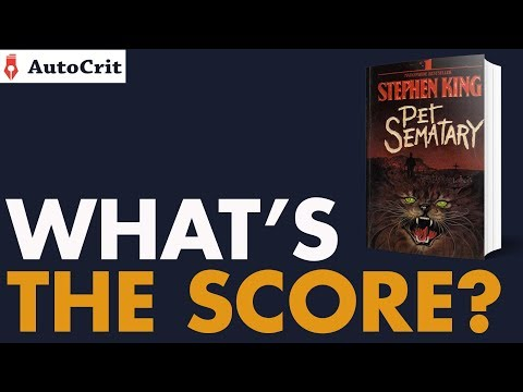 What's The Score? – Pet Sematary By Stephen King (Editing Breakdown)