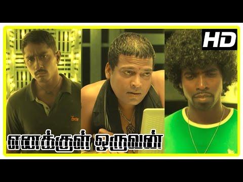Enakkul Oruvan Movie Scenes   John Vijay recommends Lucia tablets to Siddharth   Ramdoss