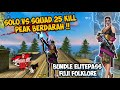 - SOLO VS SQUAD 25 KILL PAKE BUNDLE ELITEPASS TERBARU FUJI FOLKLORE !!  FREEFIRE