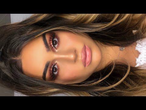 Warm Cut Crease Makeup Tutorial I Aylin Melisa thumbnail