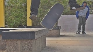 SUPER SLOW MOTION SKATEBOARDING