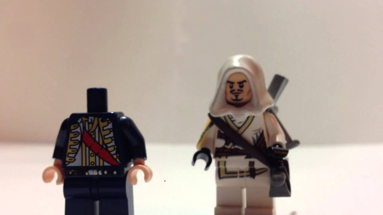 Quick Tutorial On My Lego Assassin S Creed Minifigures Accessories Youtube