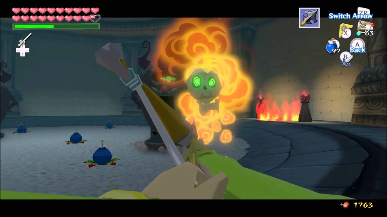 the wind waker hd walkthrough chapter 12: the triumph forks part c