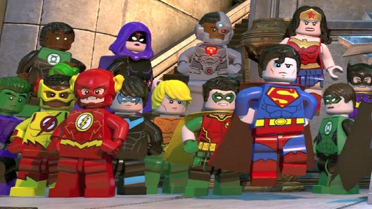 LEGO DC Super-Villains - Final Boss Fights + Alternate Endings