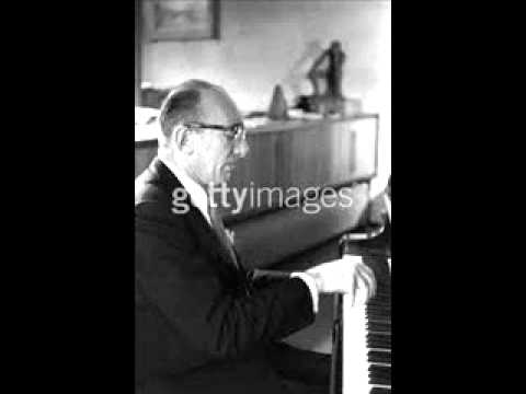 Clifford Curzon plays Haydn Andante and Variations in F minor