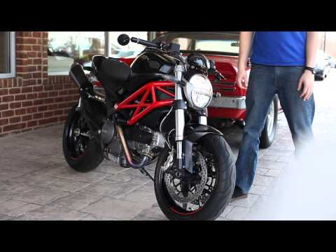 Ducati Monster 796 Termignoni Carbon - Cold Start